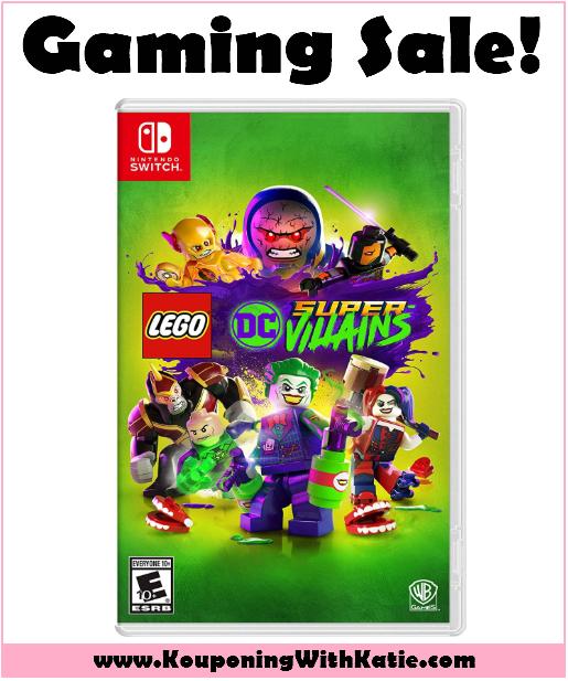 Hot 19 99 Lego Super Villains Nintendo Switch Video Game Reg 50 Uma Aventura Lego Lego Dc Xbox One