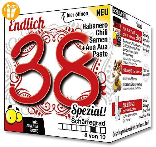 Endlich 38 Spezial Eine Tolle Geschenkidee Zum 38