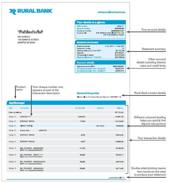 Sample Bank Statements Template Beautiful Bank Statement