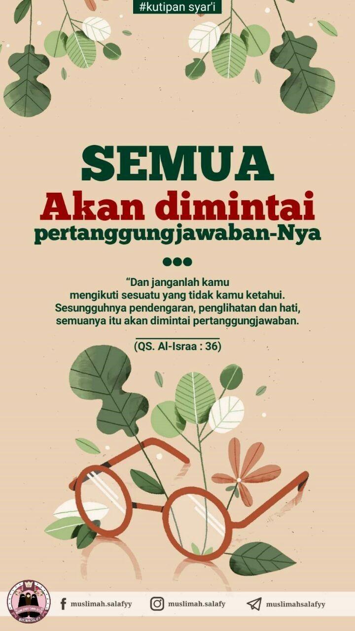 Pin Oleh Anis Mustikawati Di All About Islam Kutipan Agama