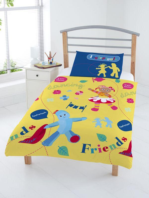 In The Night Garden Junior Duvet Cover Set Toddler Duvet Cover Toddler Bed Mattress Cot Bed Duvet Cover