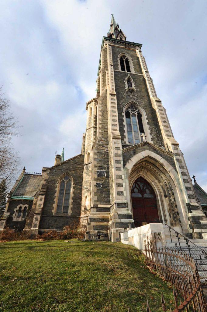 Mysterious Temples In World: St. Joseph's Church, Albany, NY