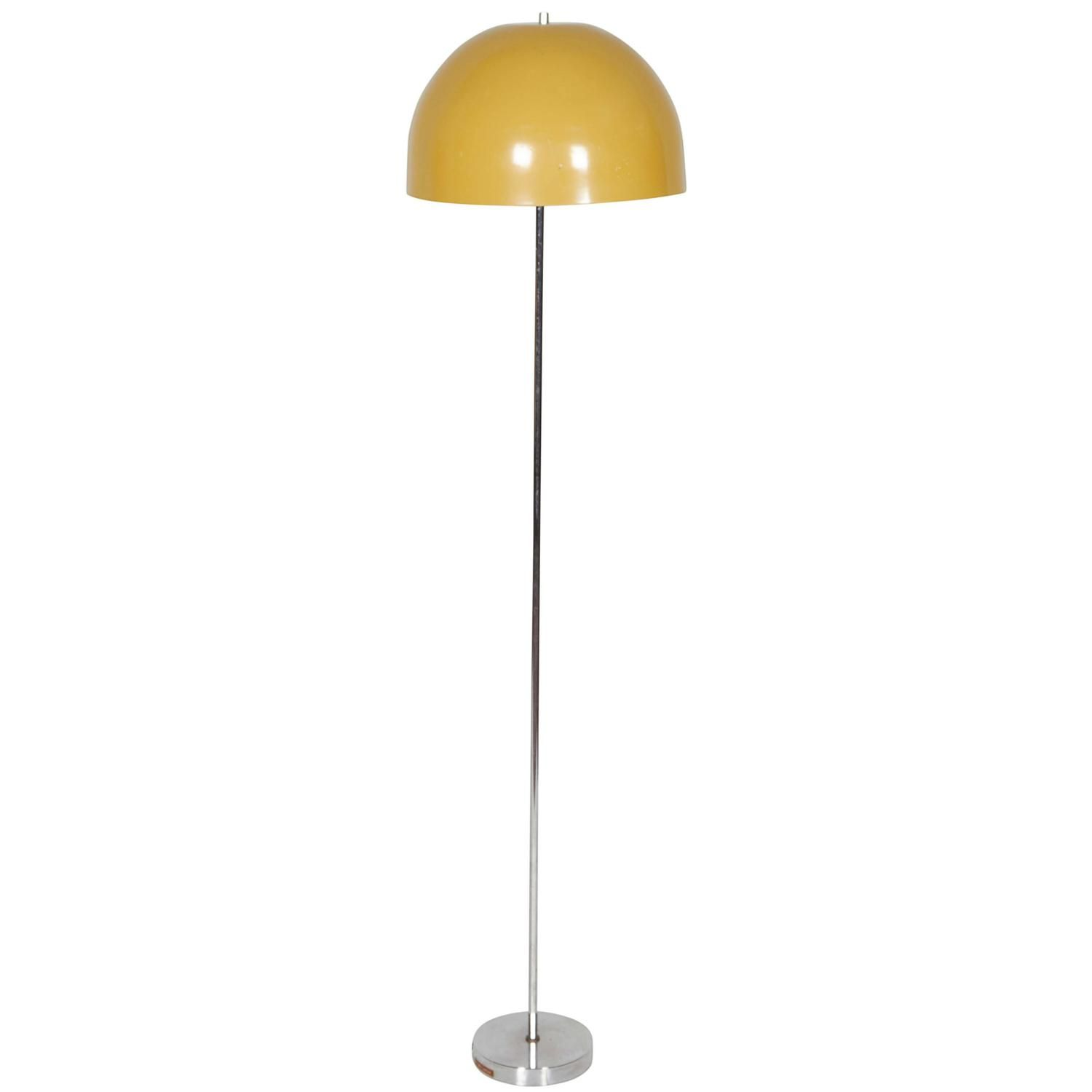 1960s Dome Shade Floor Lamp