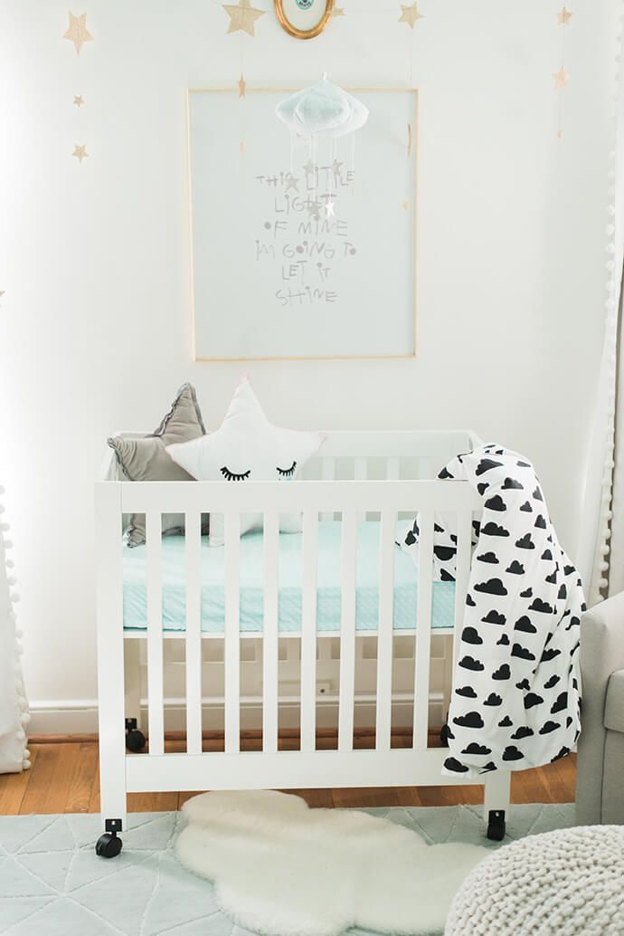 Touring The Cheerful And Charming Home Of Joni Lay Sun Moon Stars Theme Nursery Idea