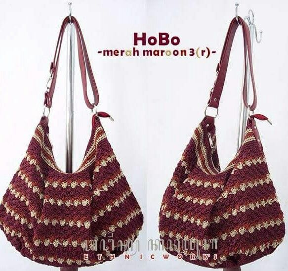 Pin de Marihot Nasution en Crochet pattern | Pinterest | Bolsos ...