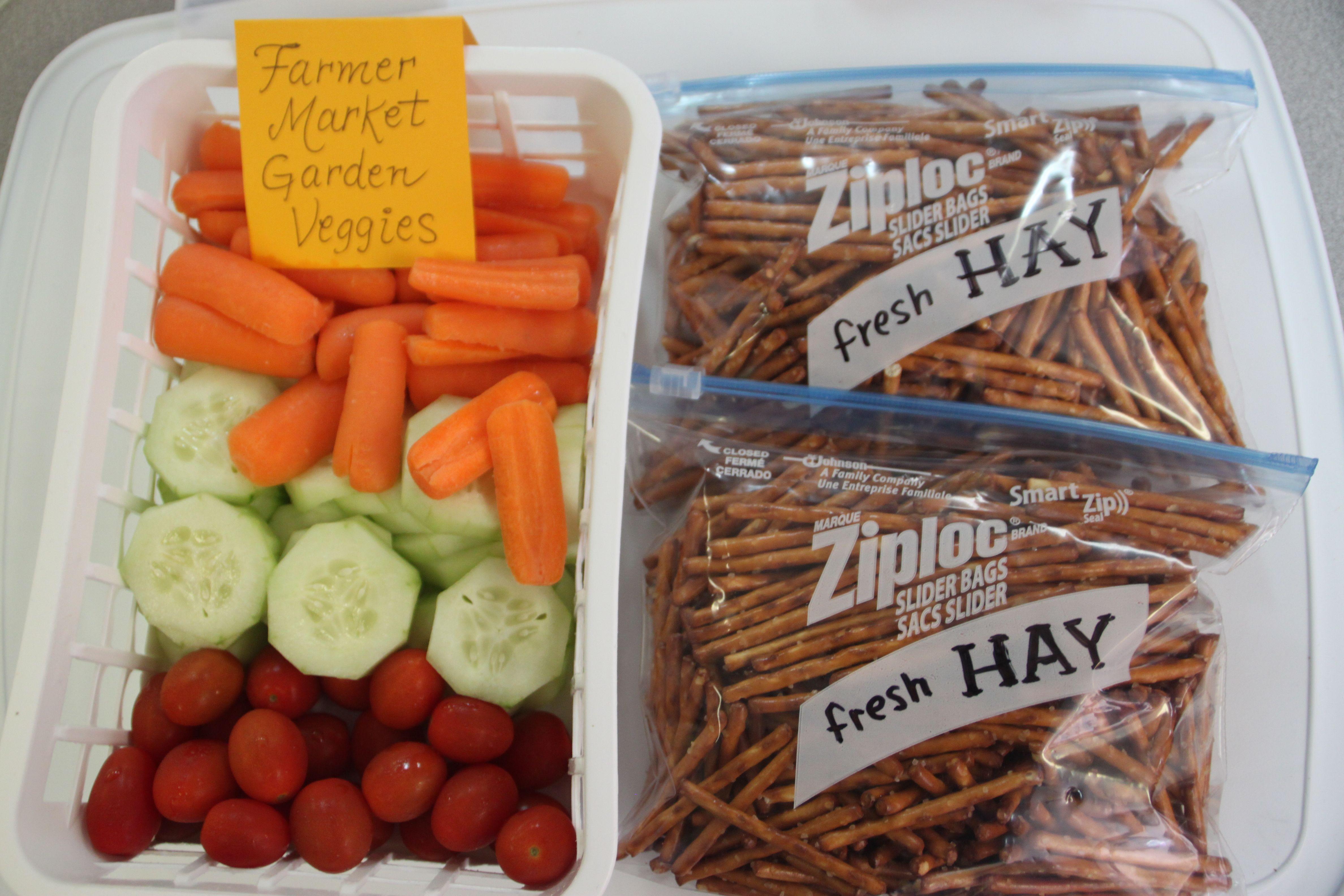 Snack Idea For Farm Week Preschool Or Party