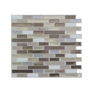 Smart Tiles Muretto Durango Beige 10 20 In W X 9 10 In H Peel