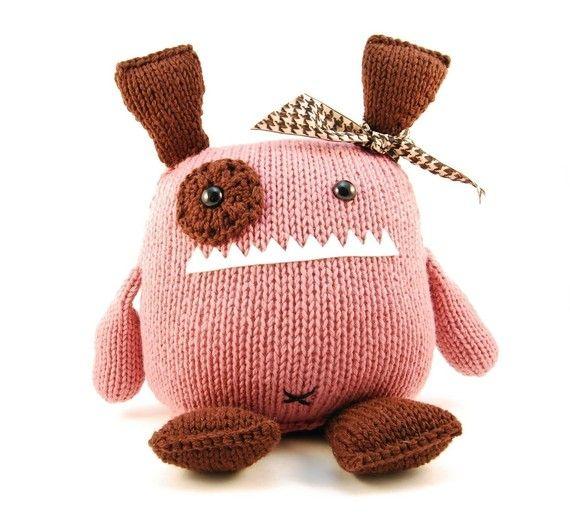 Penelope the Empathetic knitting pattern :: Danger Crafts