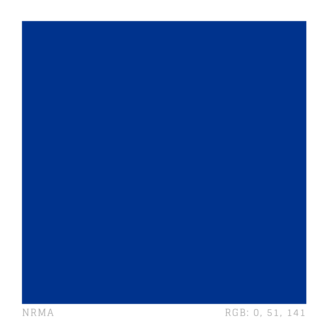 Nrma Insurance Company S Primary Brand Colour Is A Deep Blue Hex