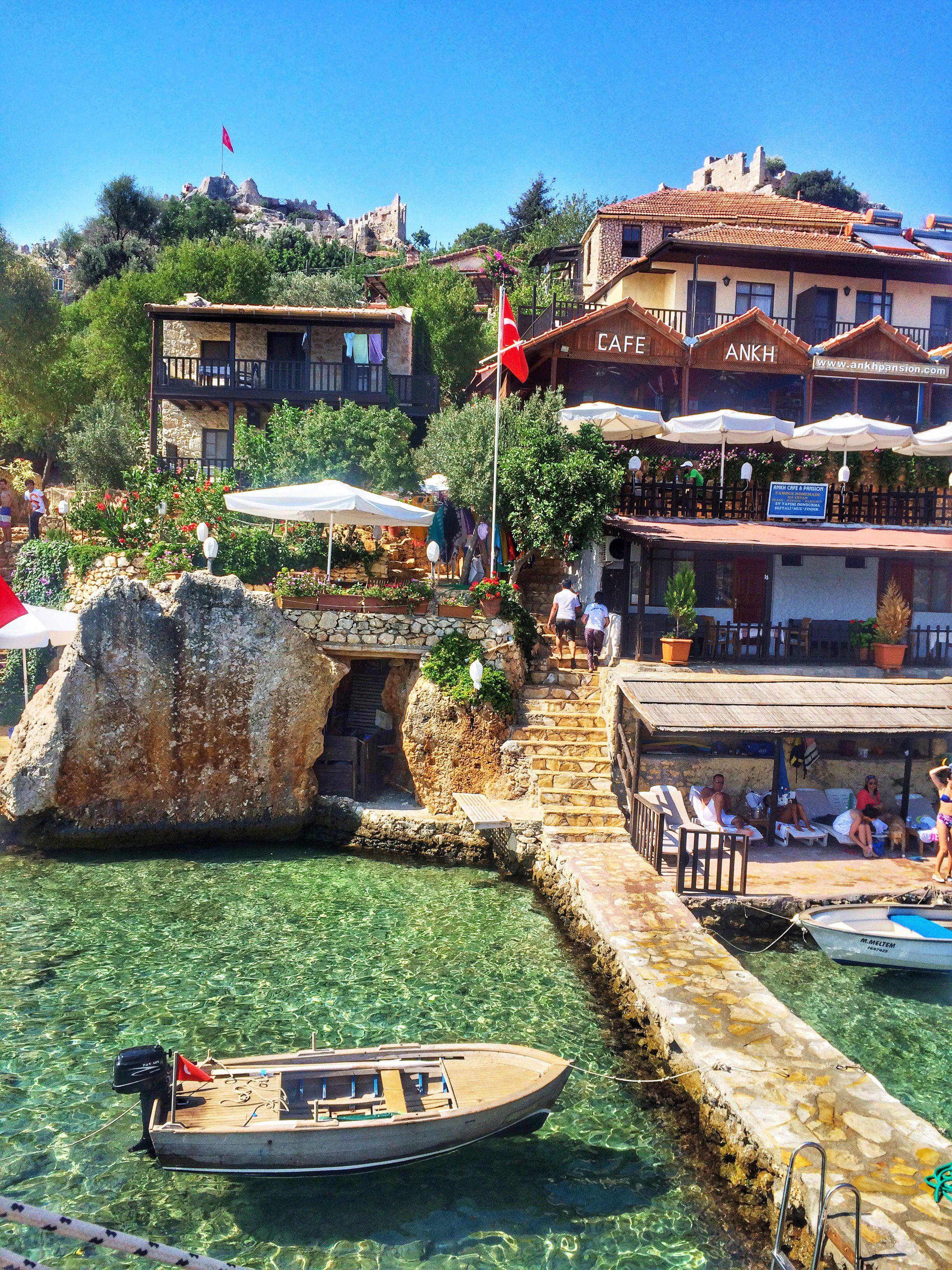 Antalya-Kaş-Kaleköy Evleri ile ilgili görsel sonucu