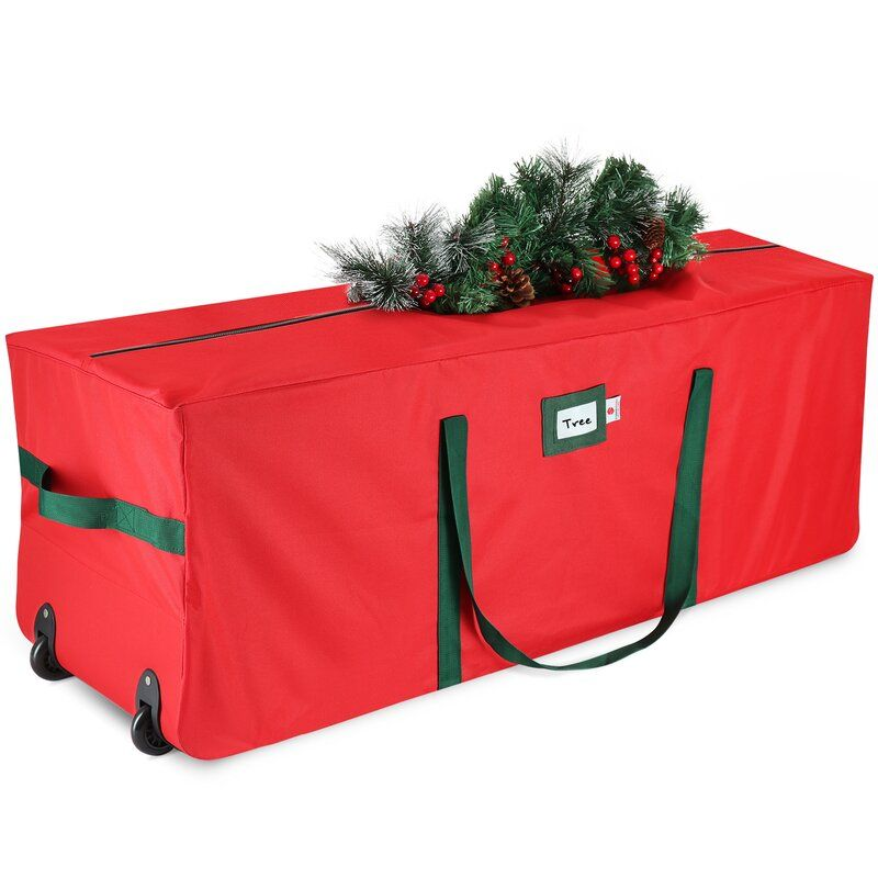 17 H X 48 W X 16 D Christmas Tree Storage In 2020 Christmas Tree Storage Bag Tree Storage Bag Christmas Tree Storage