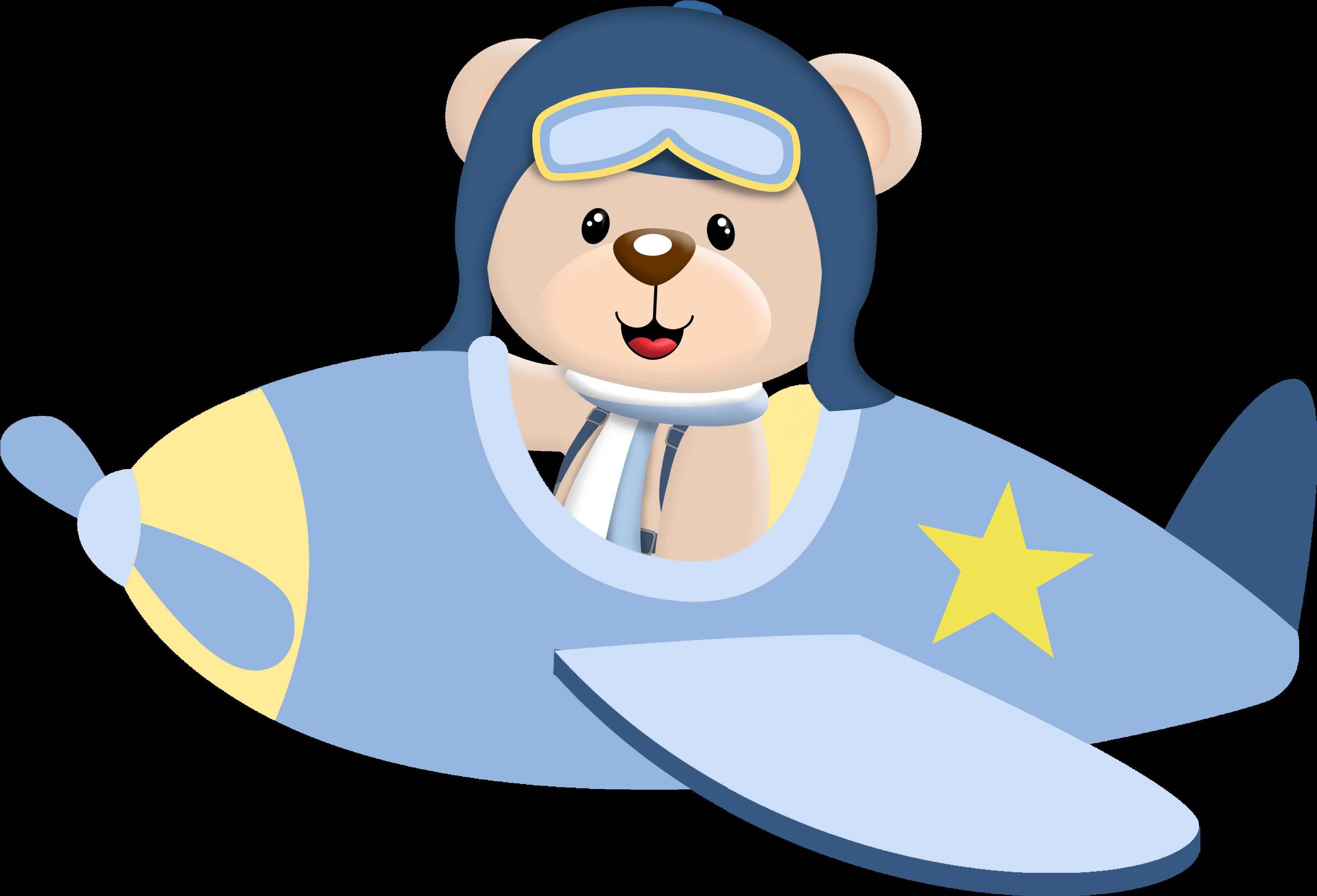 Самолет медведь картинки