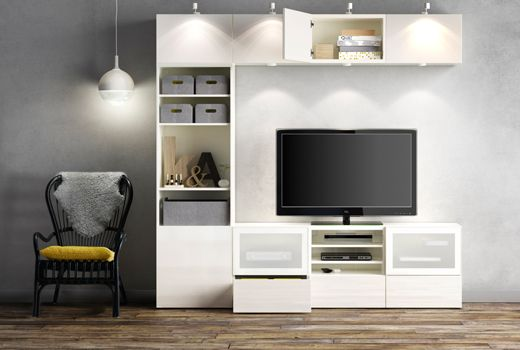 Besta Tv Storage Combination Ikea Wall Units Ikea Tv Storage