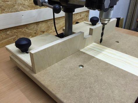 Ich habe jetzt seit gut einer Woche den Bohrständer von Wabeco. Natürlich konnte der Tisch für die Holzbearbeitung nicht im Originalzustand ...