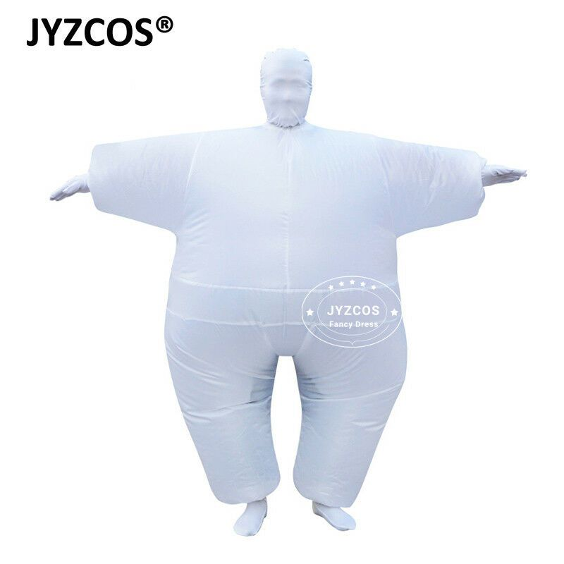 Full Body Suit Inflatable Blow Up Costume Adult Cosplay Dress Carnival Outfit