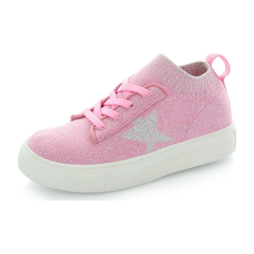 Hoo Shoes Kelly Star Knit Sock Sneaker