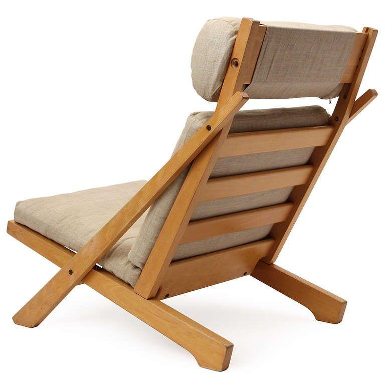 Lounge Chair By Hans J. Wegner