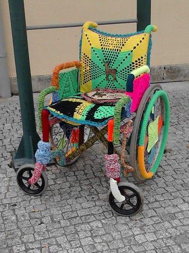 O Crochet Sai à Rua Vilanova De Cerveira 2014 Arte De Rua Tudo Em Croche Artesanato Em Geral