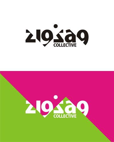 zigzag-electronic-music-collective-logo-design-alex-tass.jpg (400×500) #typography #logo #design