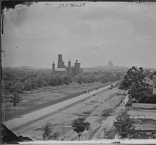 Smithsonian Institution Washington D C Ca 1860 Ca 1865 Black History Museum City Landscape Smithsonian