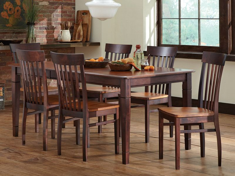 Cardi S Furniture Table 6 Chairs 2799 99 800751100 Eclectic Dining Room Furniture Traditional Dining Tables Solid Wood Dining Set