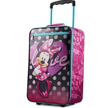 71ba16f8277 American Tourister Disney 18 inch Softside Luggage - Minnie