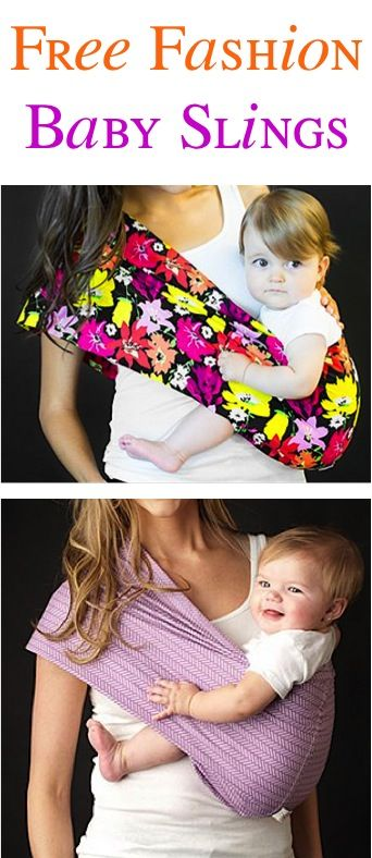 67361958ae9a FREE Super Cute Baby Sling!  just pay s h  - these slings make the ...