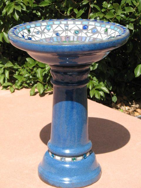 Ceramic Birds Bird Baths синий керамические птица ванна унитаз