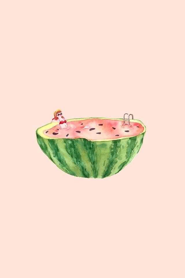 Watermelon Pool Watermelon Drawing Watermelon Art Watermelon