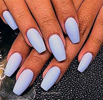 Nails Summer Colors 2017 Matte Periwinkle Diy Acrylic Nail Designs For Summer Nails Summe In 2020 Diy Acrylic Nails Summer Nails Colors Acrylic Nail Designs