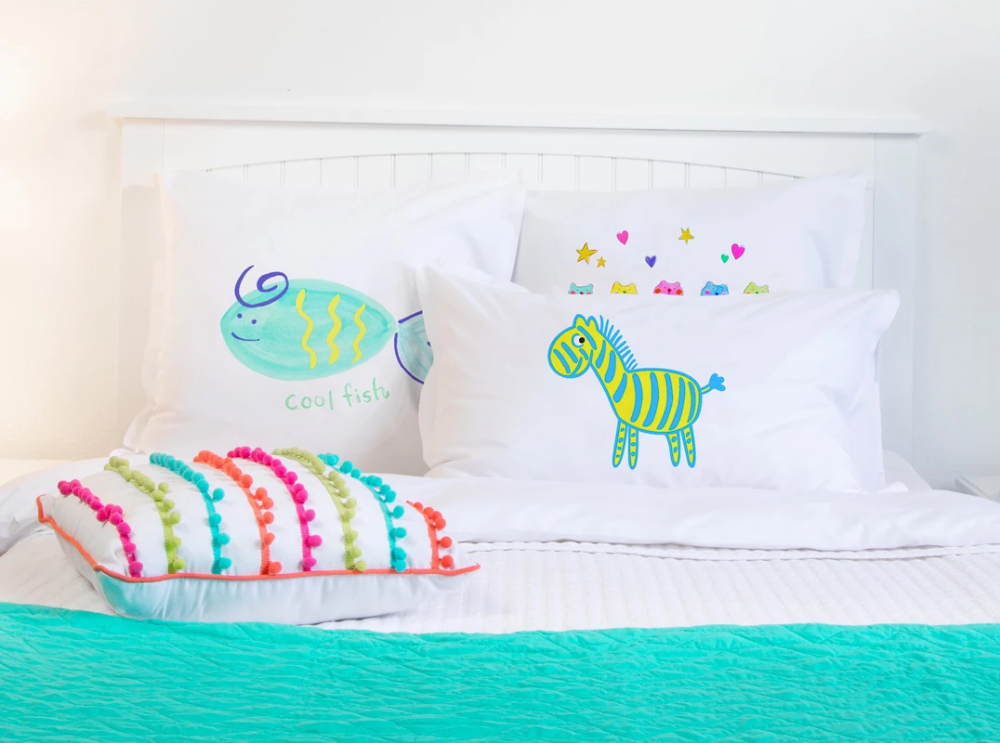 Kids Pillowcases Designs on a budget