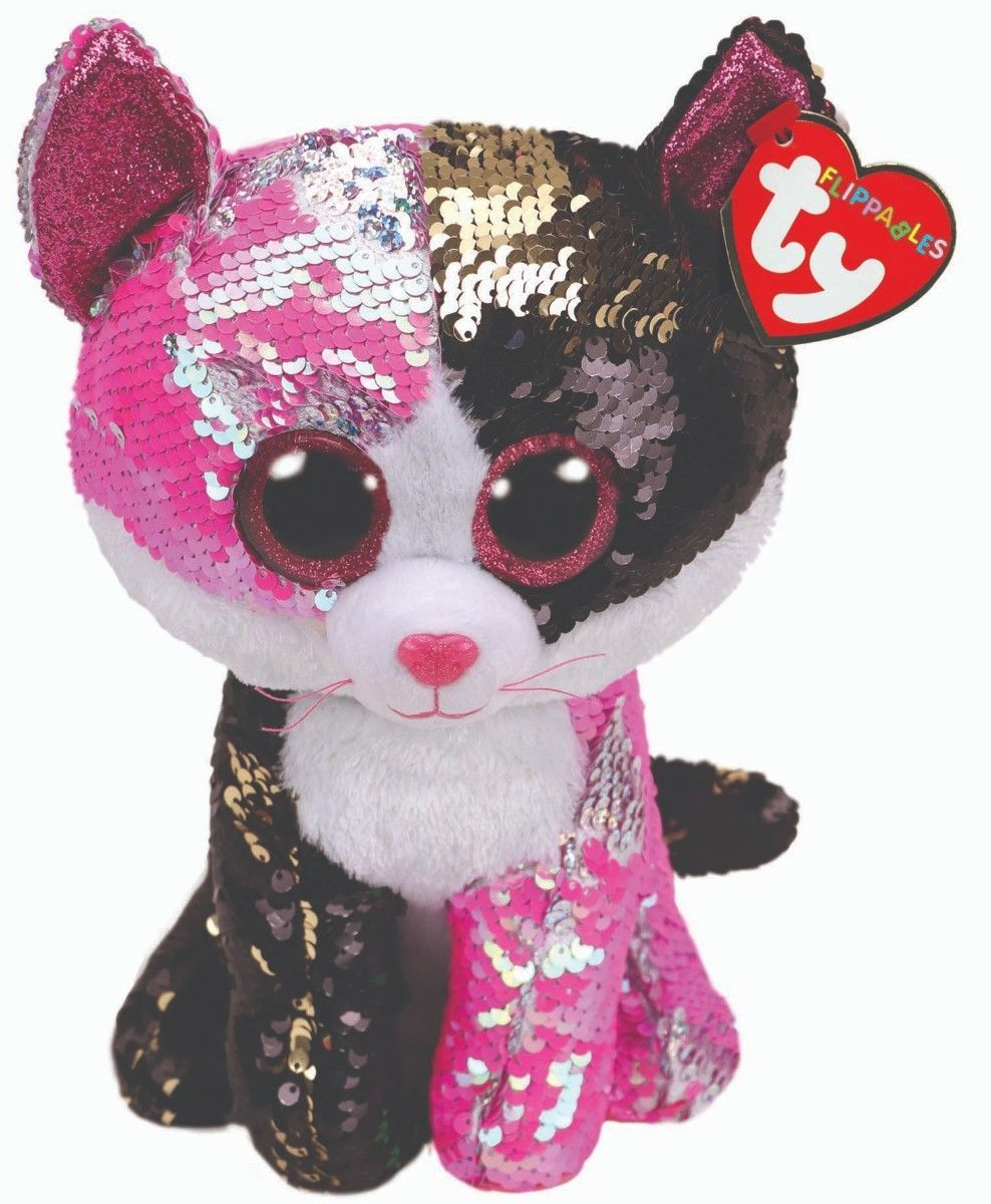 dfc5e0213e6 Ty 19203  Ty Sequins Flippables Beanie Boos 10 Malibu Mwmt 2018 -  BUY IT  NOW ONLY   25 on  eBay  sequins  flippables  beanie  malibu