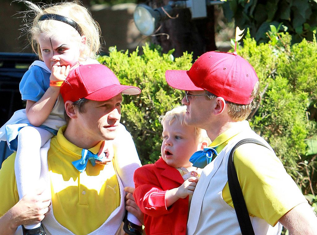 Neil Patrick Harris, Family Dress Up for Halloween! Neil