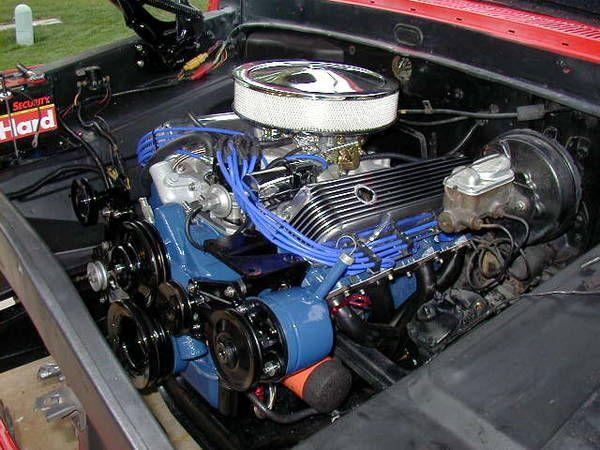 1969 Ford 390 FE Block | Ford V8 engines | Ford trucks, Ford v8