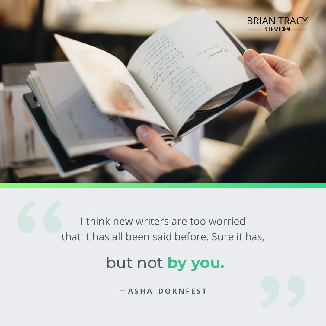 Nobody Has Ever Told Your Story Before Or Shared Your