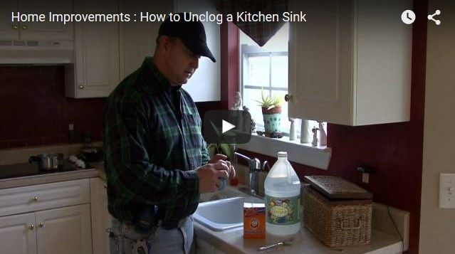 Amazing How To Unclog Kitchen #Sink With Standing Water