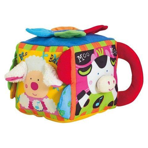 Melissa & Doug K's Kids Musical Farmyard Cube Educational ...