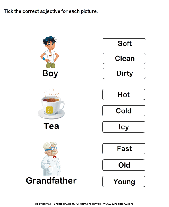 Kindergarten Adjective Worksheets Free Worksheets Library – Kindergarten Adjective Worksheets