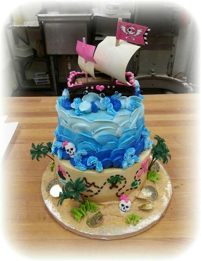 wedding ideas pics s pirate themed stacked cake in buttercream 27779