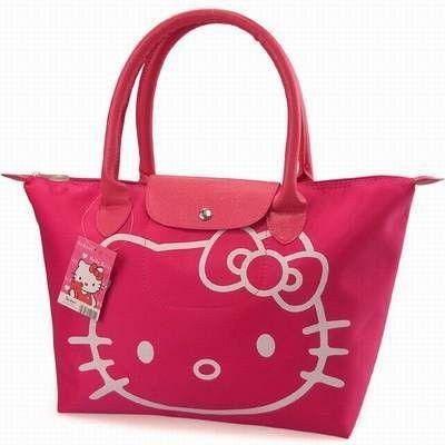 Hello Kitty Waterproof Large Beach Bag for Women's summer bag foldable big shopping bag multipurpose female sac