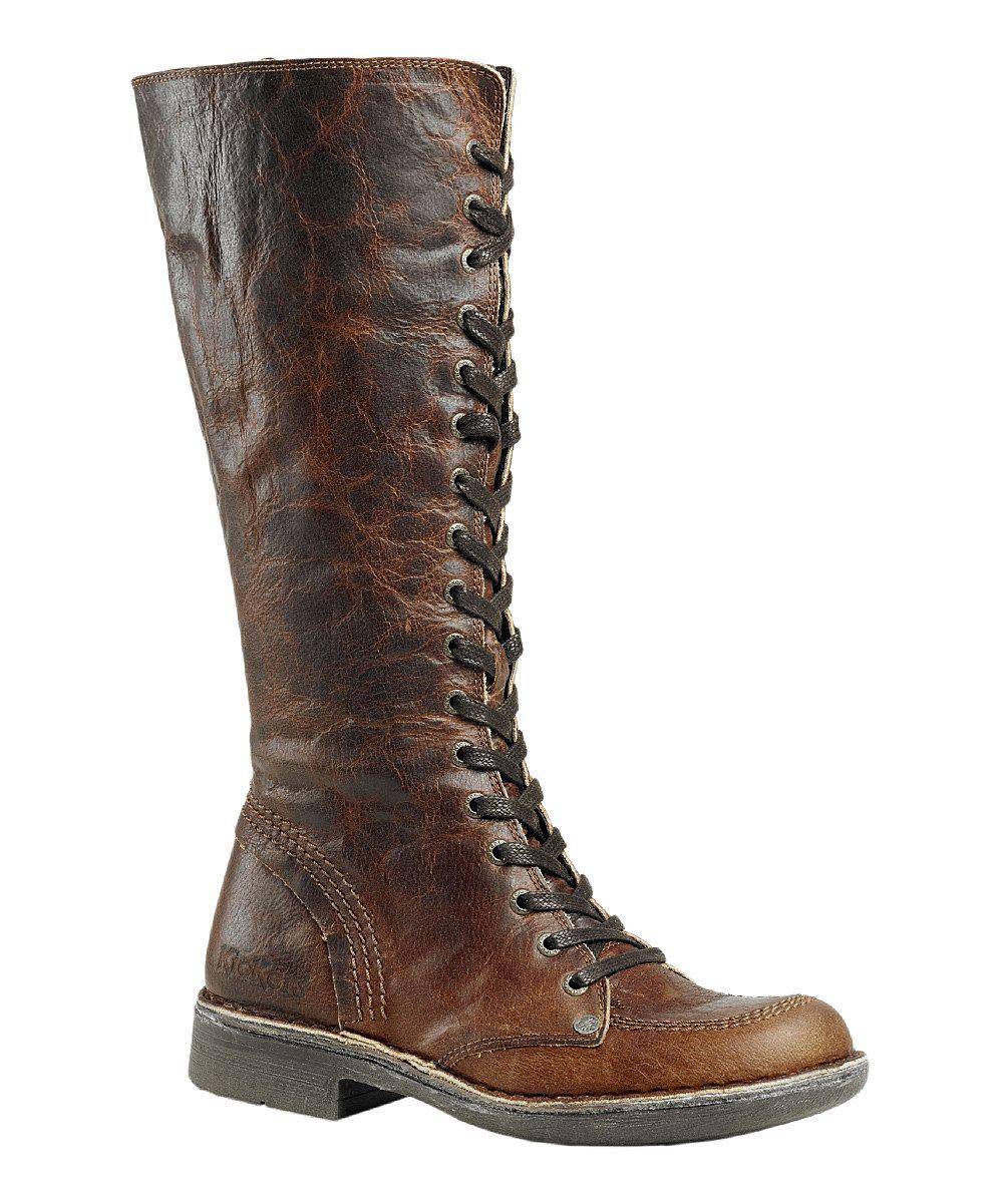Light Brown Rocking Boot