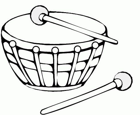 Miscellaneous Coloring Pages 58 Musica Pre Escolar Instrumentos