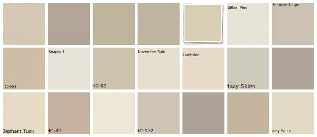 Trying To Find The Perfect Shade Of Greige