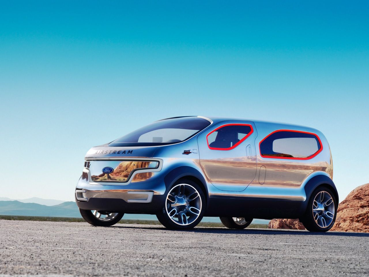 Ford Airstream Concept Concept Cars Crossover Cars Concept Car Design