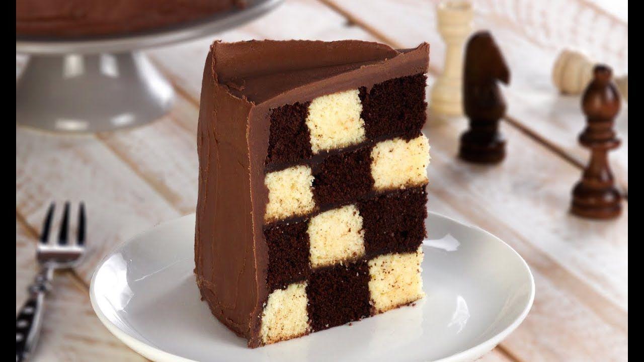 Торт шахматная доска рецепт фото