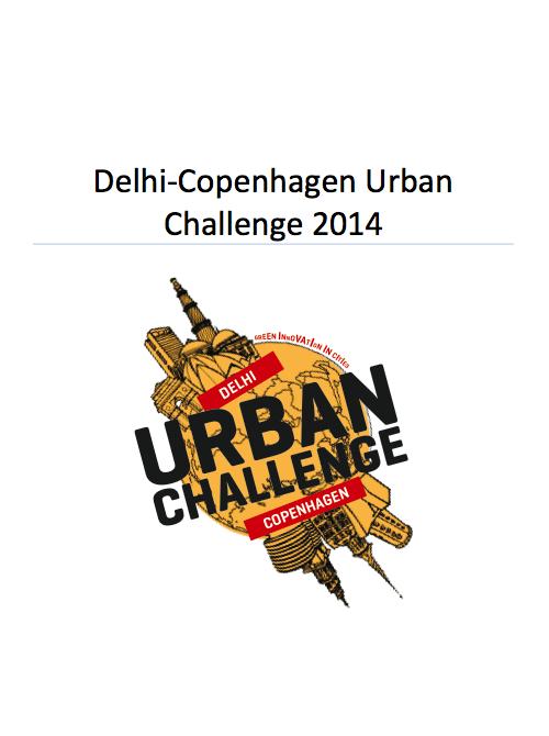 Program for Delhi-Copenhagen Urban Challenge. Illustration: Denise Burt. Text: Ditte Lindharth Tellgren