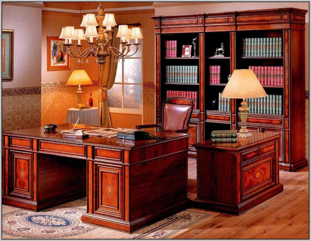 Cherry Wood Office Furniture Traditional Home Office Home
