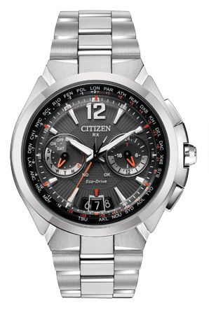 Citizen Citizen Eco-Drive Satellite Wave CC1090-61E Satellite | It sets the time by using a satellite!