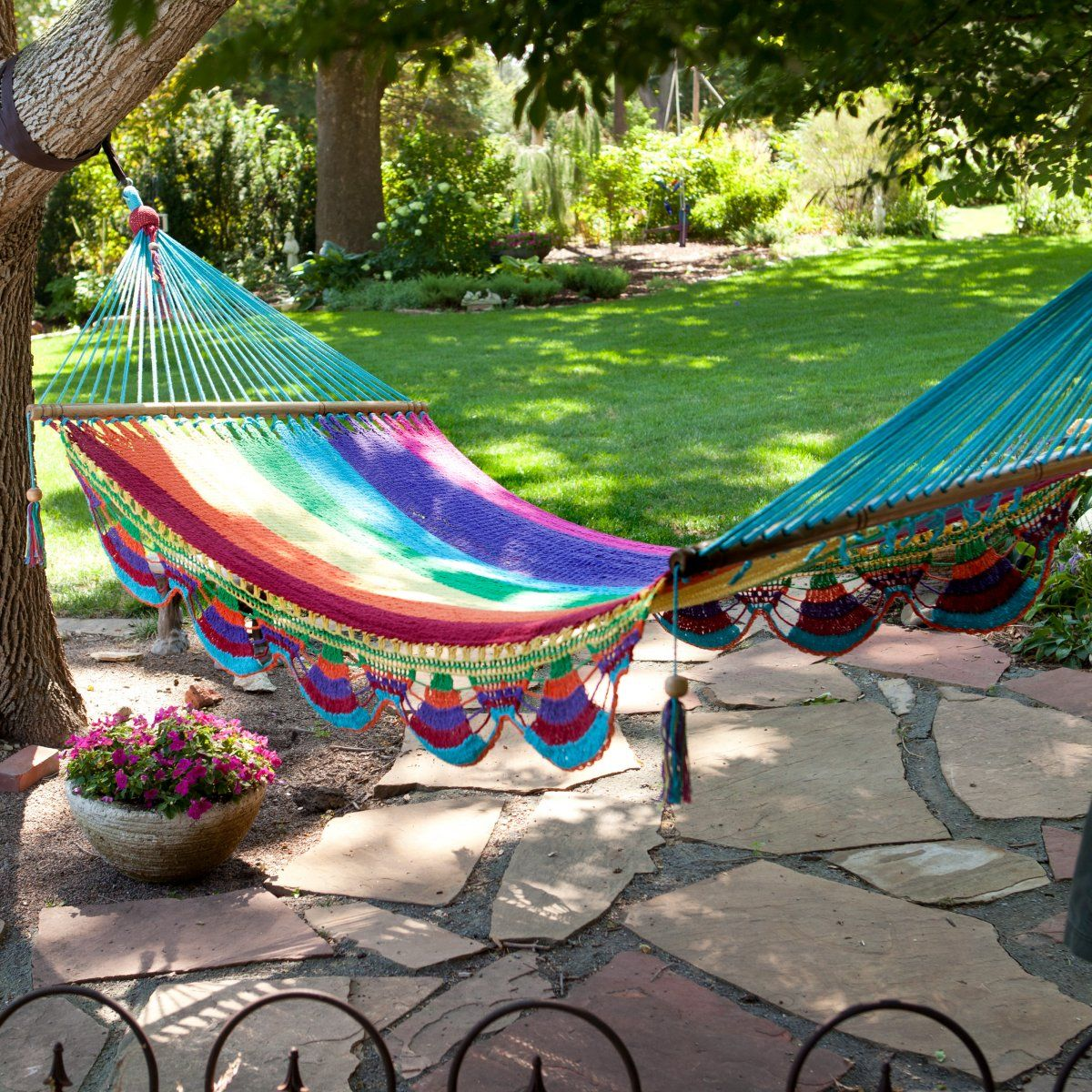 woven outdoor use porch dp indoor for sky soft hammock and hammocks backyard fabric two com person brazilian supreme double cotton amazon handmade bed