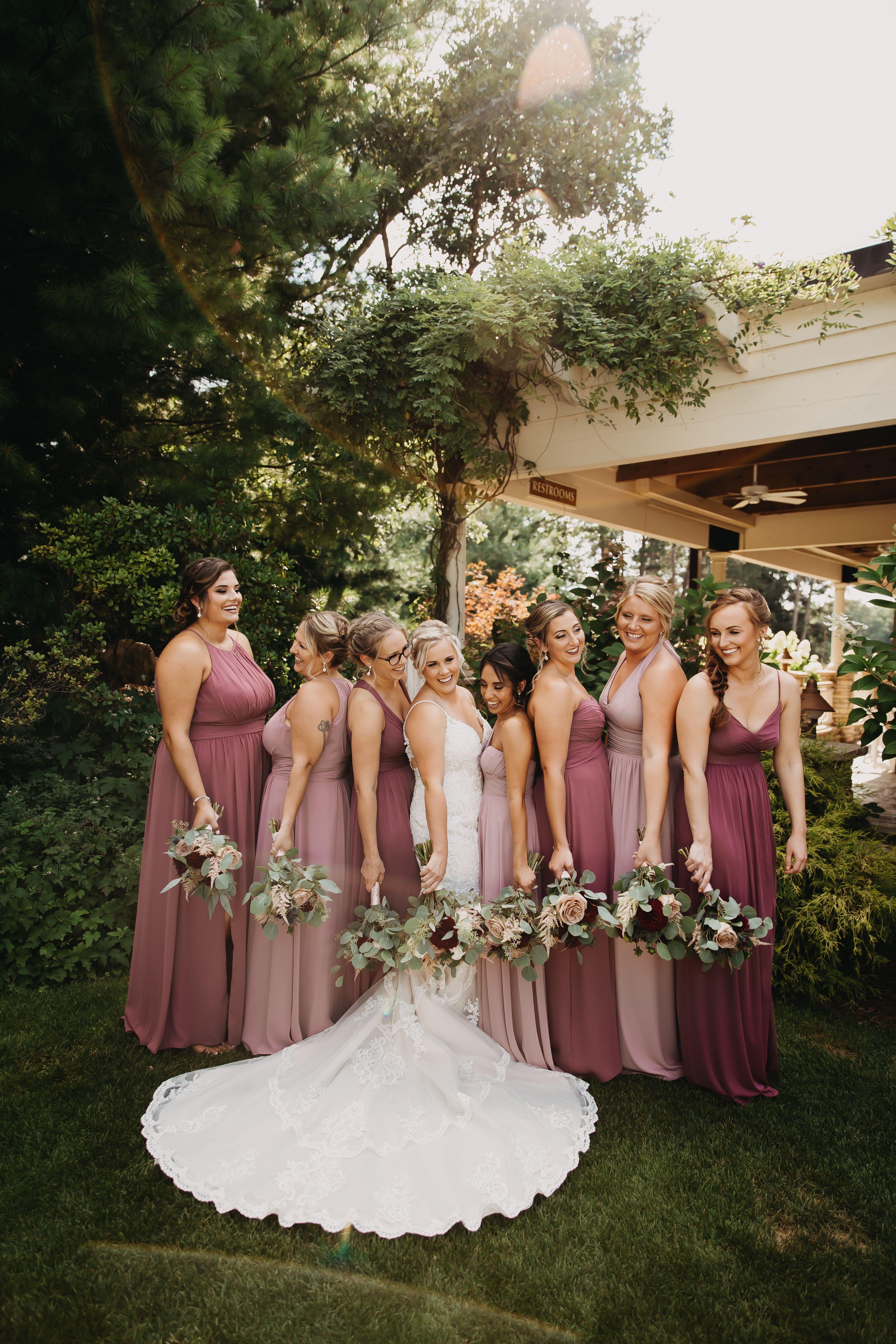 Mauve Bridesmaid Dresses Summer Wedding Colors Mauve Bridesmaid Mauve Bridesmaid Dress Summer Wedding Colors [ 5388 x 3592 Pixel ]